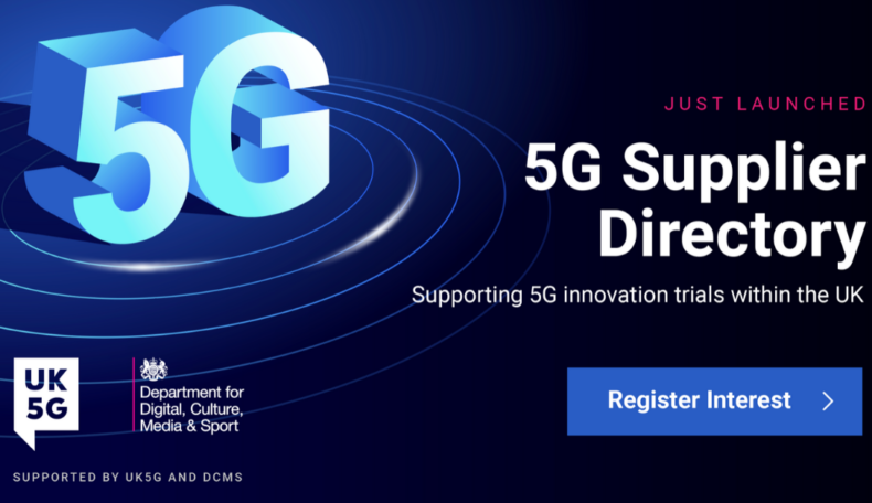 UK5G launches UK's first 5G Supplier Directory