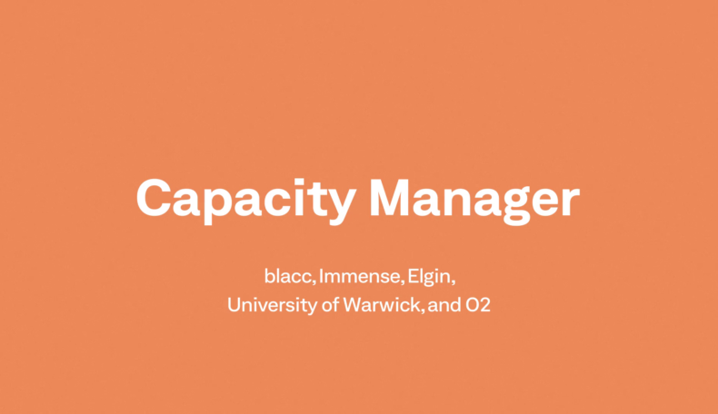Transport competition winner: Capacity Manager
