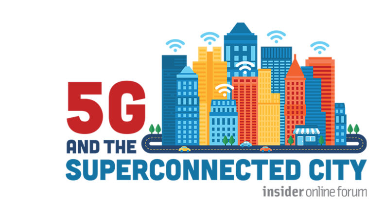 WM5G at the Insider Online Forum: 5G and the superconnected city