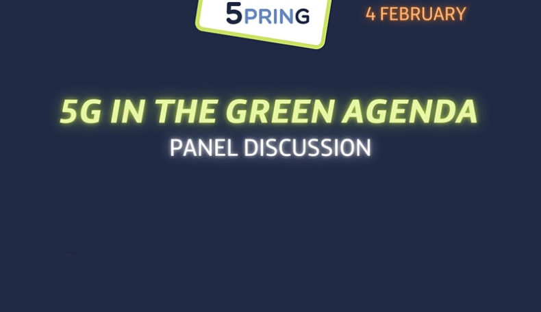 5PRING Panel: 5G in The Green Agenda