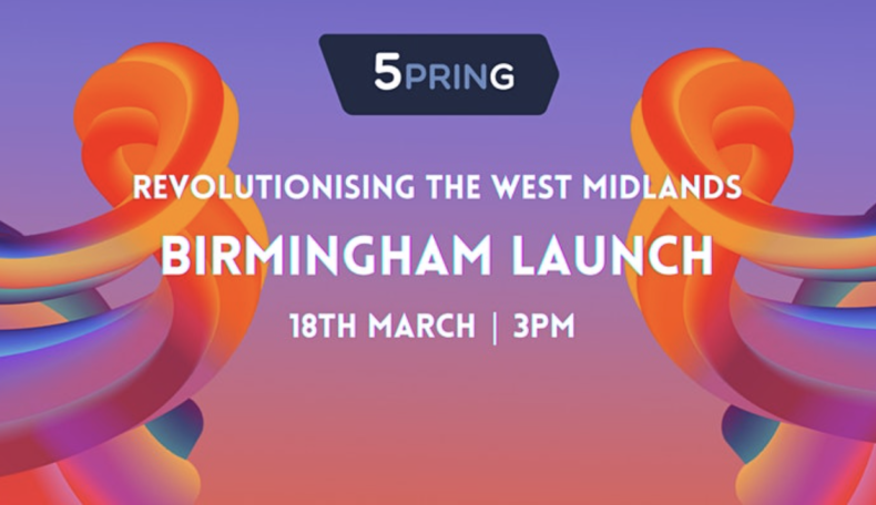 5PRING – Revolutionising the West Midlands – Birmingham